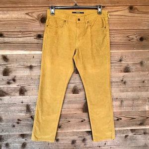 Incotex Ray Regular Brushed 5PKTS Pants Gold 32